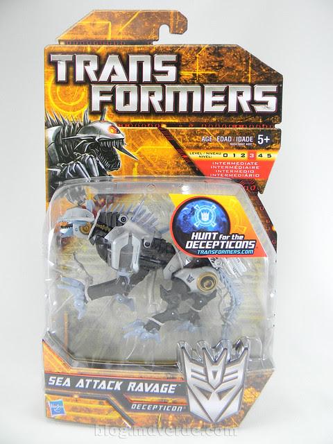 Transformers Sea Attack Ravage HftD Deluxe - caja