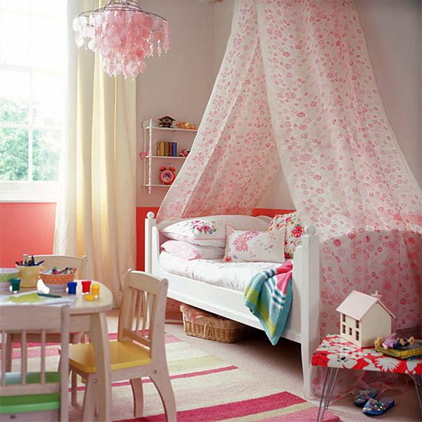 Dreamy Bedroom Design Ideas For Girls | InteriorHolic.