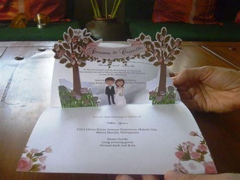 Wedding Pop Up Invitations   Pop Up Occasions