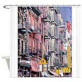 Ny Street Shower Curtains | Custom Themed Ny Street Bath Curtains ...