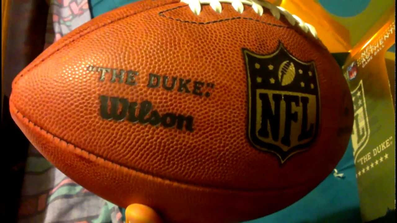 The Duke Official NFL Football Review  YouTube