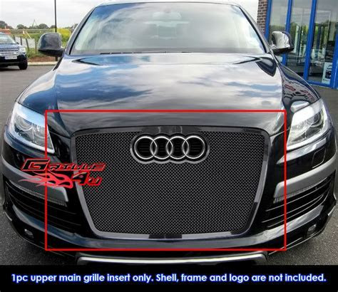 Fits 2007 2009 Audi Q7 Stainless Steel Black Mesh Grille Grill Insert   eBay