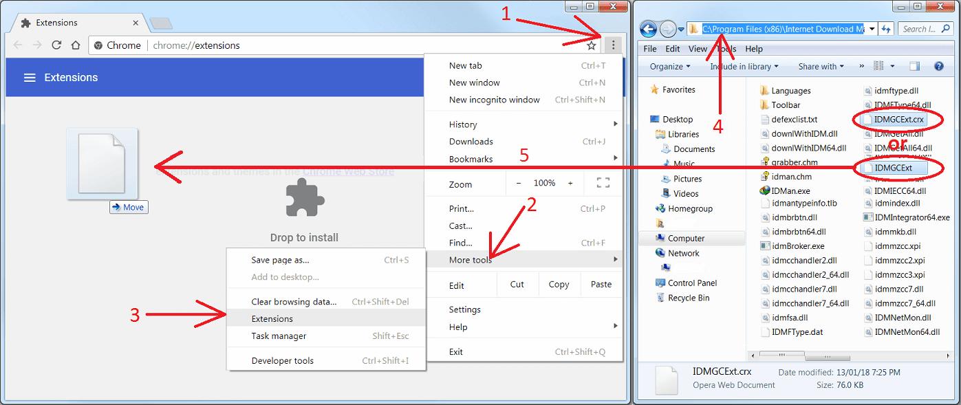 Cách đơn giản để Internet download manager (IDM) bắt link youtube trên Google Chrome