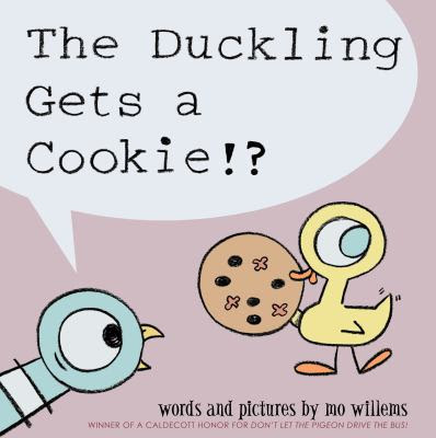 Cover Art for The duckling gets a cookie!?