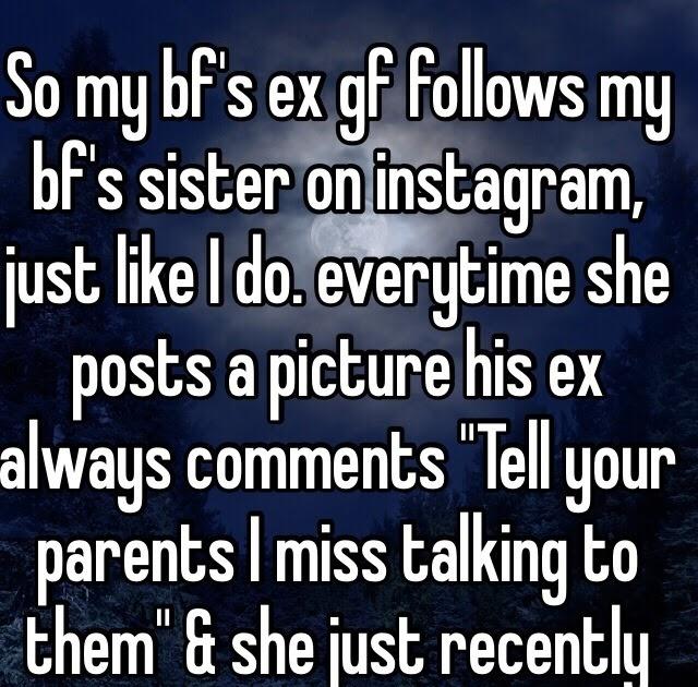 My Boyfriend Follows His Ex On Instagram