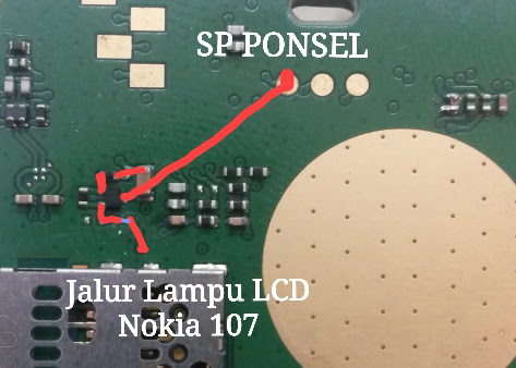 Nokia 107 Display Light Solution