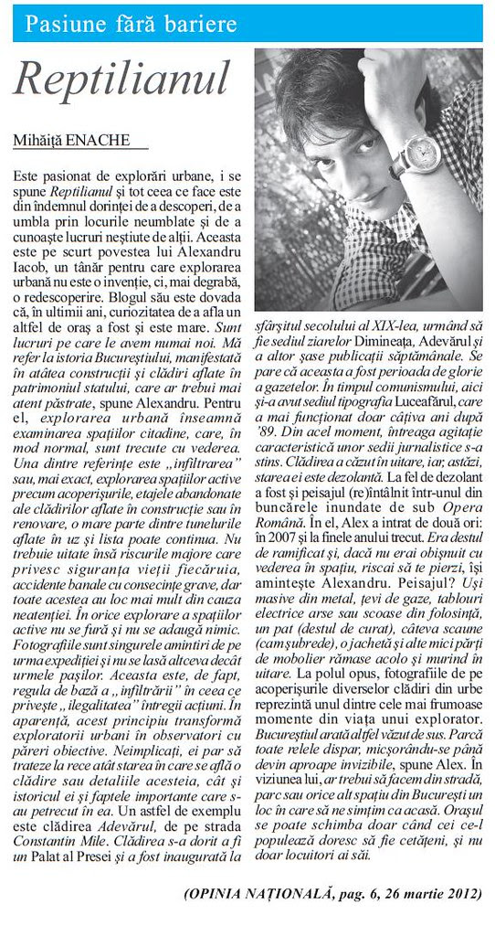 ziar reptilianul
