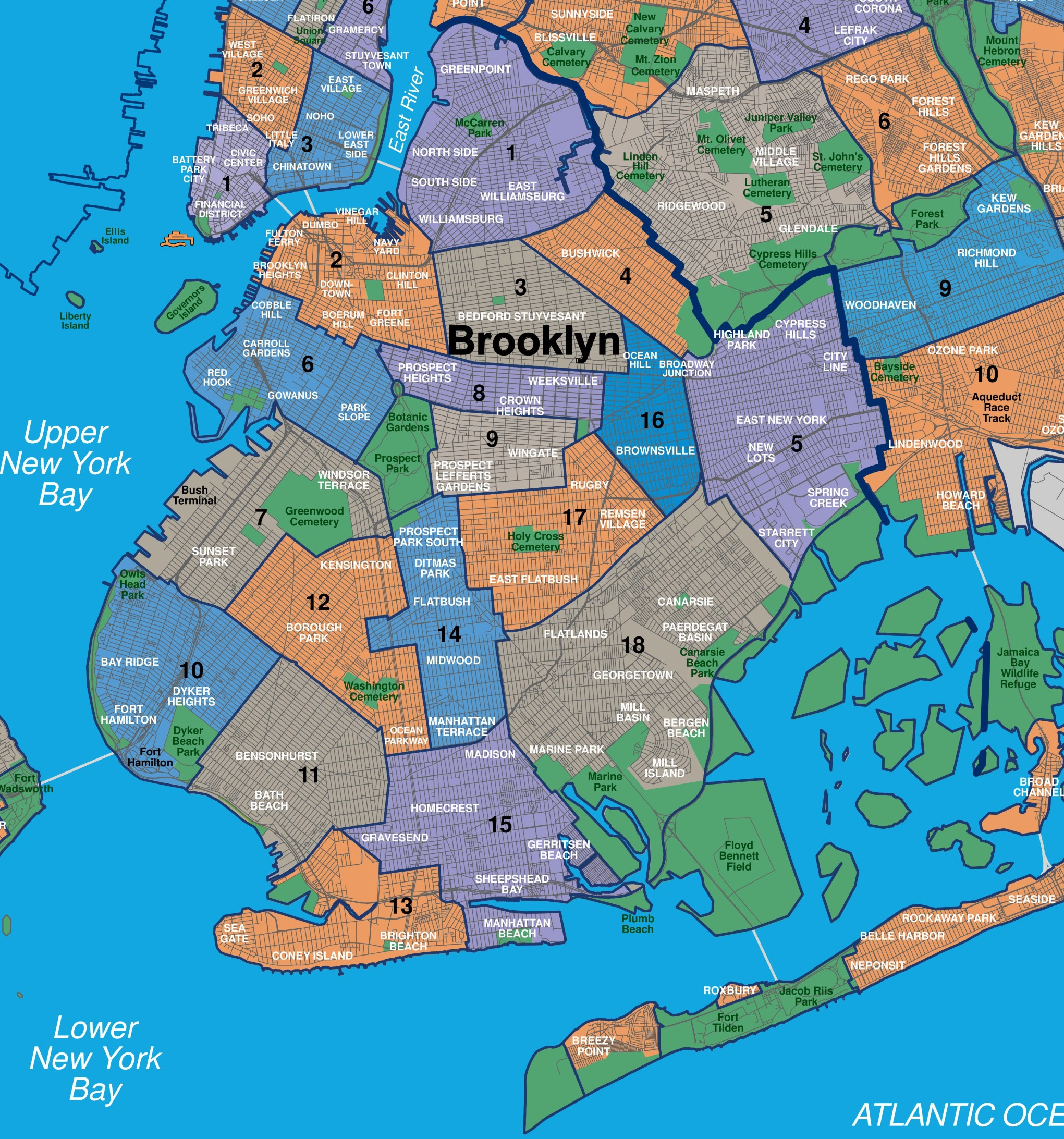 map of brooklyn and queens ny Map Of Queens Neighborhoods United Airlines And Travelling map of brooklyn and queens ny