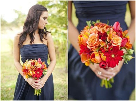 25  best ideas about Navy Orange Weddings on Pinterest
