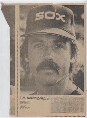 1977 Chicago Tribune Chicago Cubs/White Sox Scrapbook #TINO - Tim Nordbrook - Courtesy of COMC.com