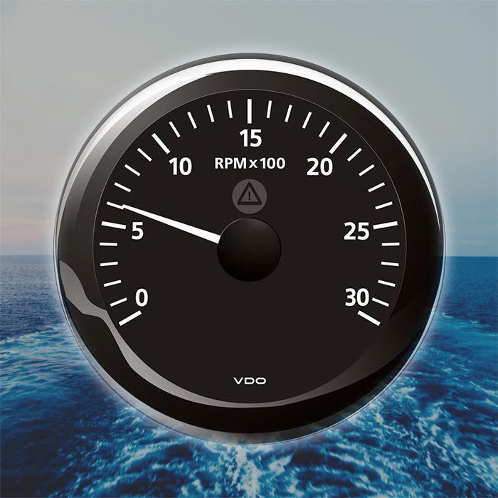 VDO Viewline Tachometer Marine Boat Gauge 3000 RPM 85mm 3 ...