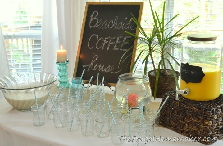 Bridal Brunch At The Beach Beach Themed Wedding Shower