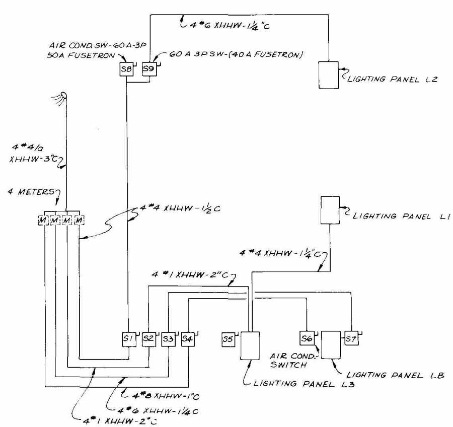 Apartment Building Wiring Diagram