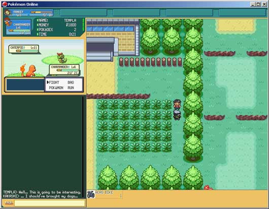 Pokemon Online : Online Games Review Directory