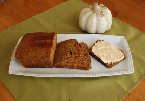 Pumpkin Bread Spread
