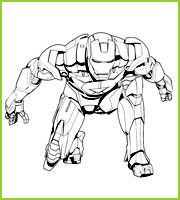 Coloriages Super Héros The Avengers A Imprimer Et à Colorier