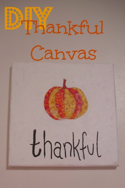 Thankful Canvas