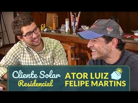 ENERGIA SOLAR FOTOVOLTAICA ENTREVISTA COM CLIENTE RESIDENCIAL LUIZ FELIPE MARTINS