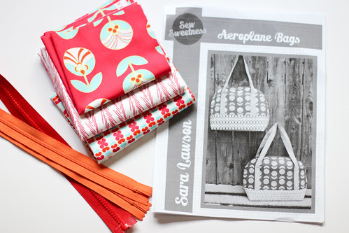 Aeroplane Bag Pattern by Jeni Baker