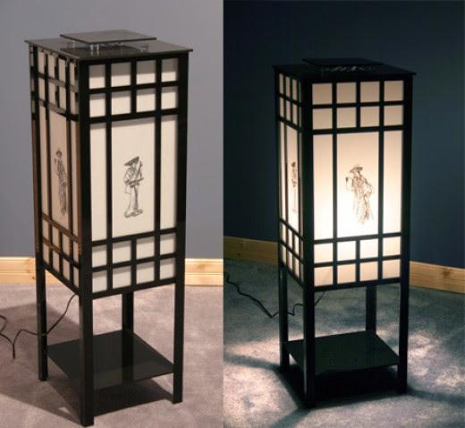 Asian Style Floor Lamps | Lamp Shop