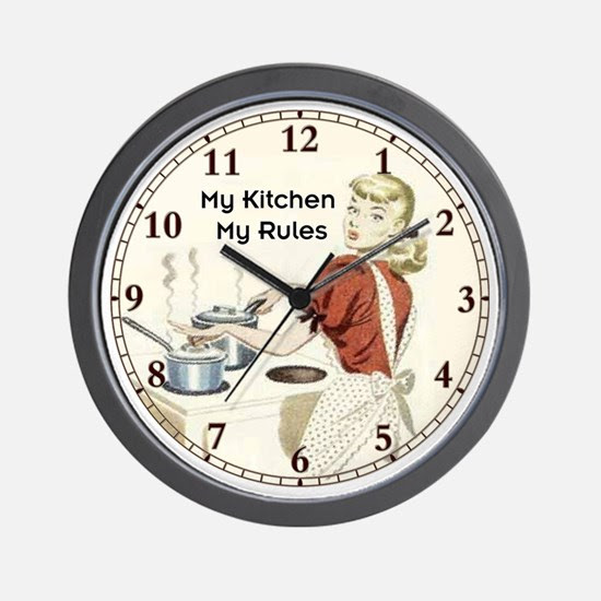 Znalezione obrazy dla zapytania wall clock kitchen