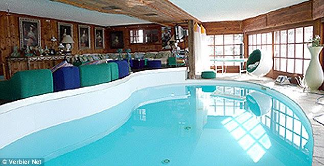 Prince Harry and Cressida's ski retreat: Seven bedroom chalet ...