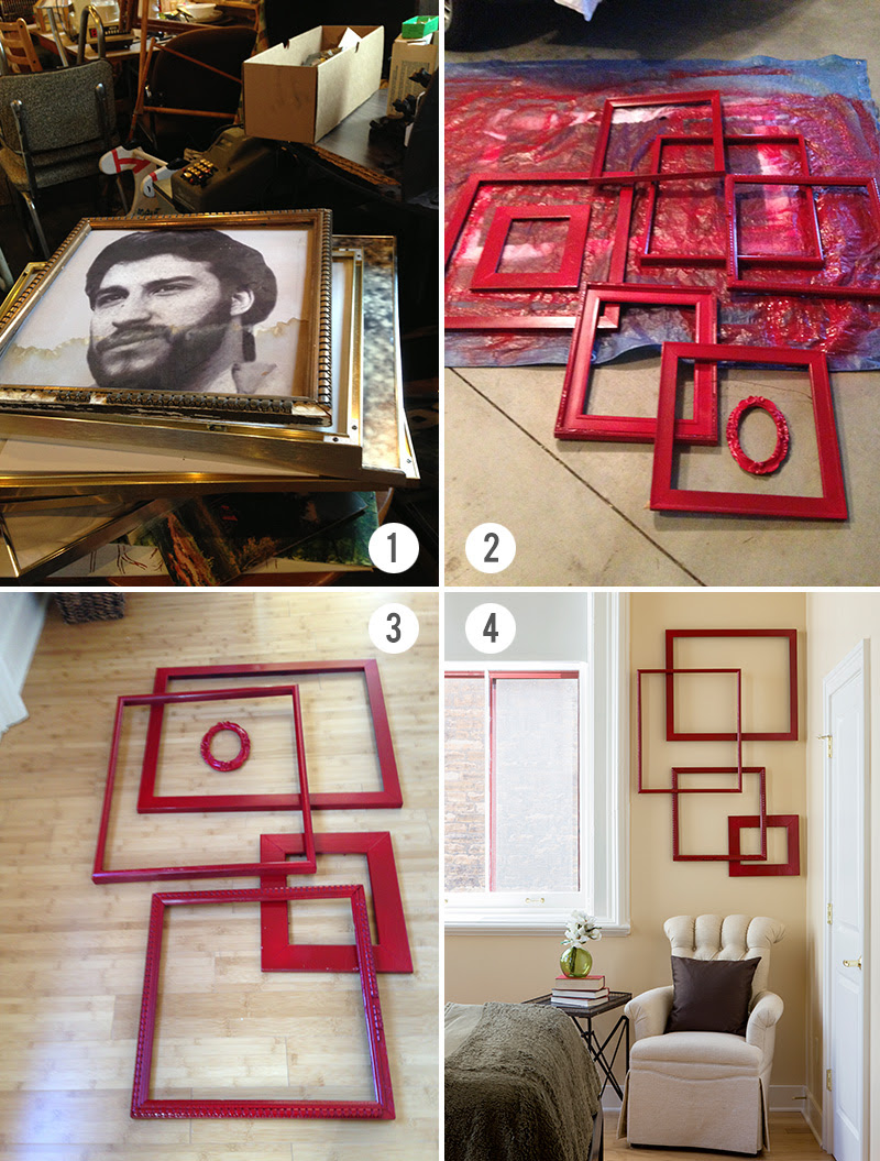 Diy Project Create A Simple Wall Hanging Act Two Home Staging