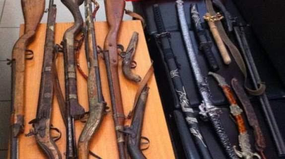 Σύλληψη 63χρονου στην Μάνη για κατοχή οπλισμού και πυρομαχικών