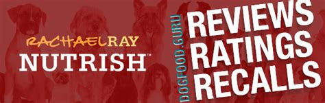 rachael ray dog food reviews coupons  recalls
