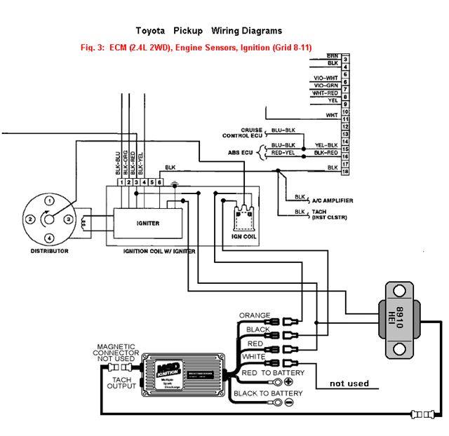 1986 Toyotum Ignition Switch Wiring
