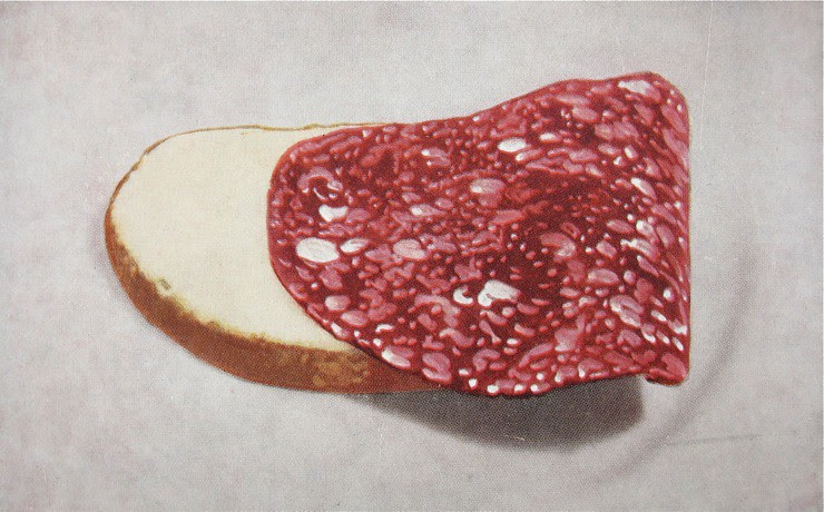 How to bend your salami