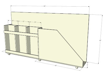 Garage Shop Lumber Rack From Long Ago
