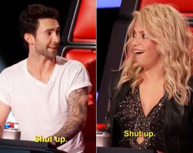 Adam Levine cállate Shakira