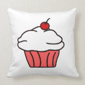 Cupcake mojo_throwpillow