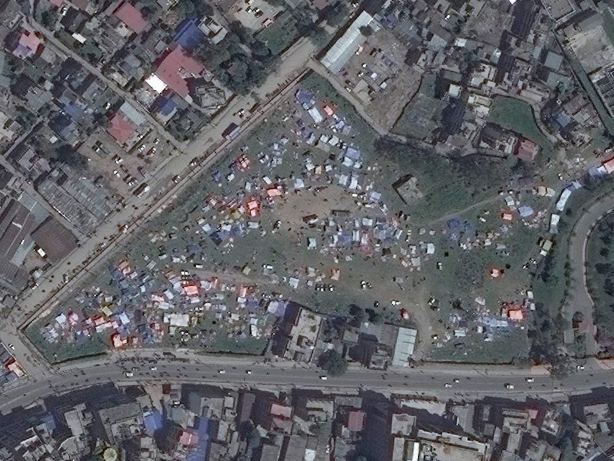 Avant: Tara Goan Park, Katmandou