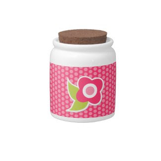 Sweet Spring Collection Candy Jar zazzle_candyjar