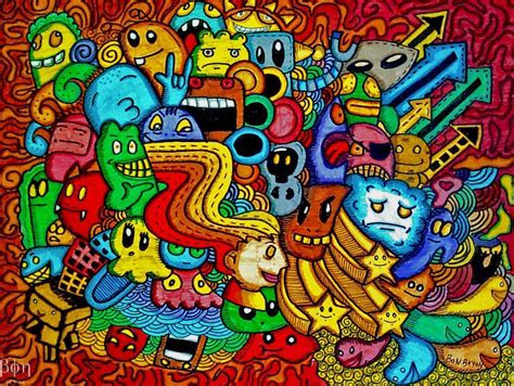 doddle art wallpapers wallpaper cave