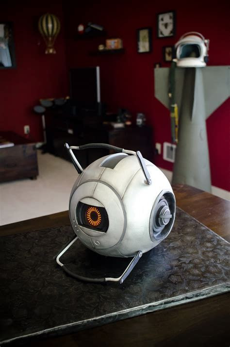Portal 2 Space Core Cake!   We had the space core cake