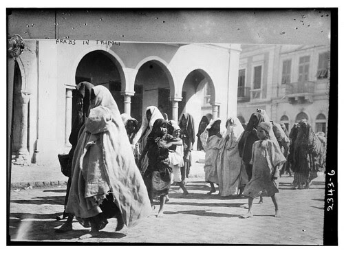 Arabs in Tripoli (LOC)
