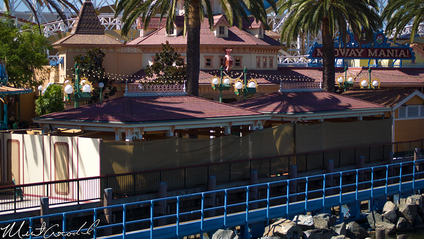 Disneyland Resort, Disney California Adventure, Paradise Pier, Toy Story Midway Mania, Queue, Structure, Refurbishment, Refurb, Refurbish