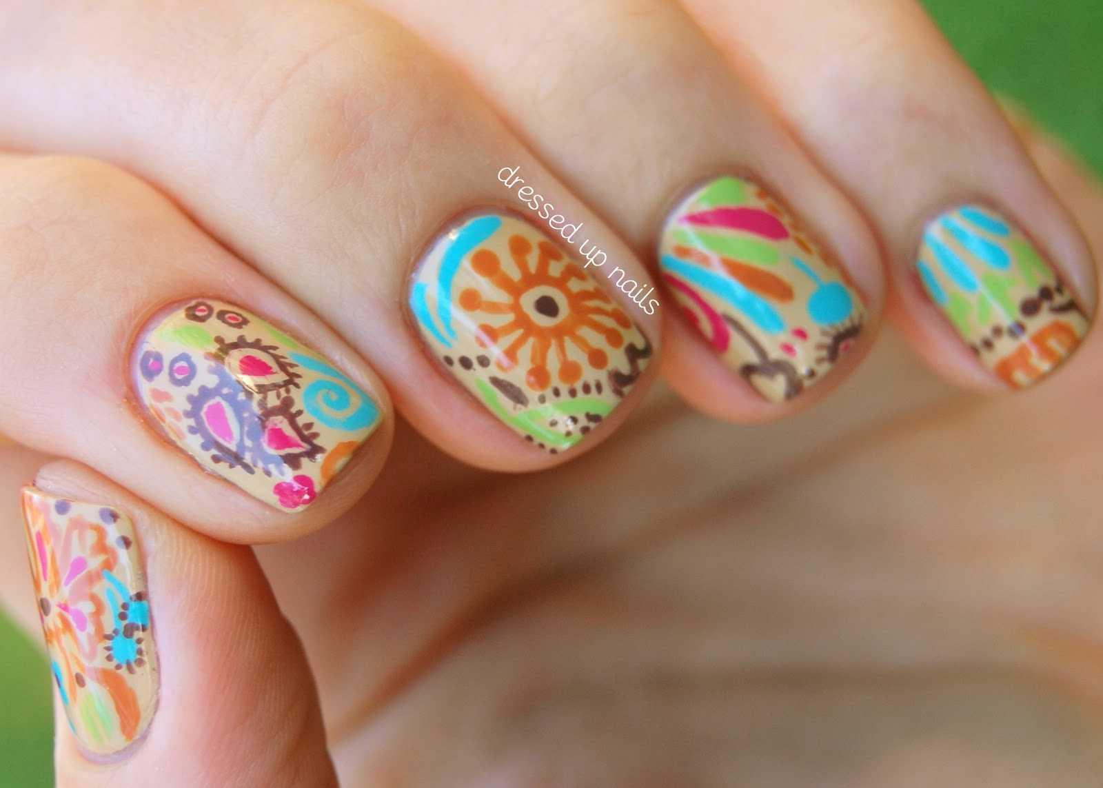 Beautiful Nails Art Images