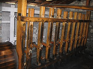 Gunpowder mill at the Hydropower Museum, Dimit...
