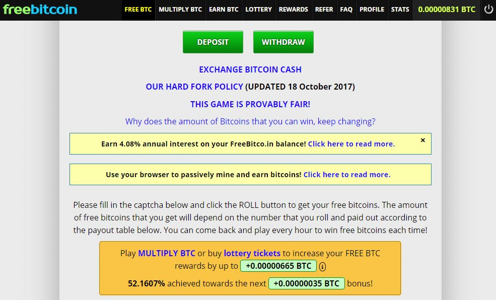 Why Is Freebitco In Such A Popular Free Bitcoin Faucet Website -