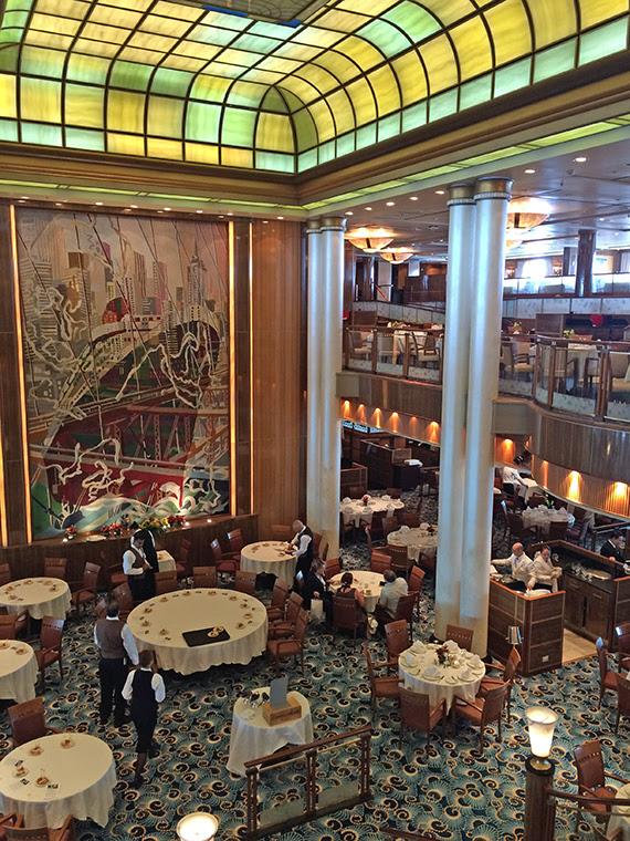 The iconic Britannia restaurant looks very much the same despite an extensive refurbishment. Photo Credit: Rebecca Tobin