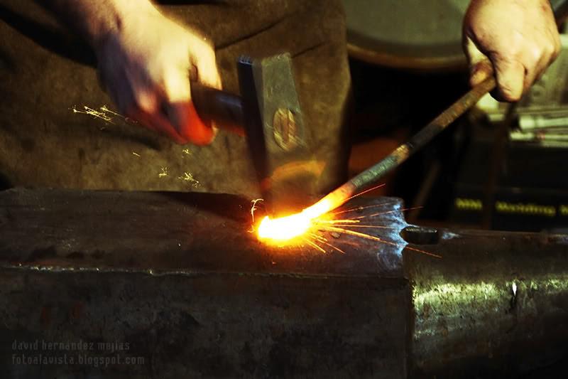 ....Y martillo, hierro y fuego se encontraron