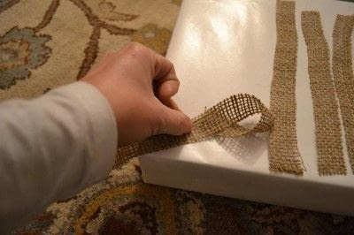 How to make a gift bow. Diy Burlap Gift Bow Tutorial - Step 2