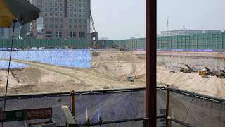 View of IFC Seoul construction site