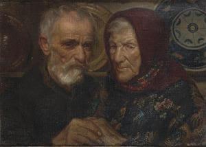 Juan Luis Lopez - Retrato De Los Padres Del Pintor