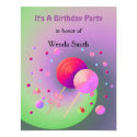 Lollipops and Sweets Birthday Invitation