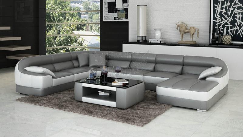 Fashionable Round Shape Modern New Design Corner Sofa ...